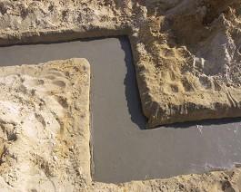 Betonowe ławy fundamentowe